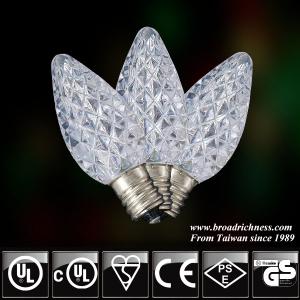 C7 Faceted LED Christmas  Bulbs