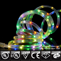 120V RGB mult-color LED strip light