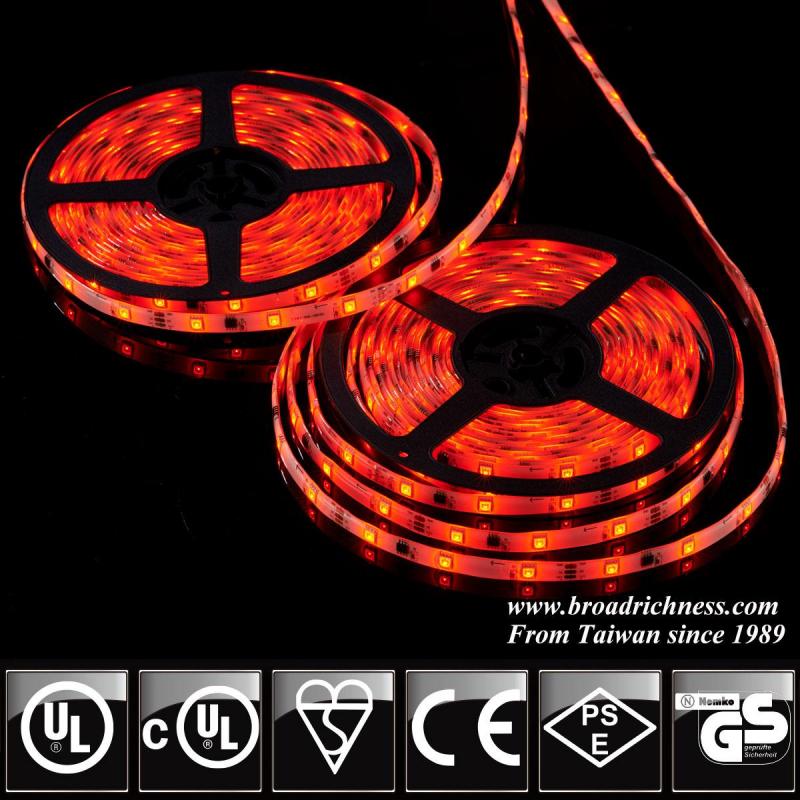 24V Color changing LED strip light