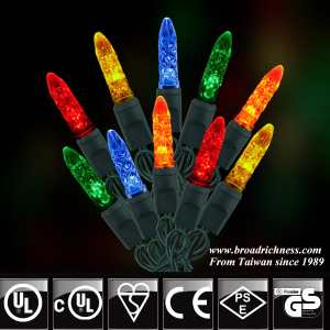 50CT M5 Mini Ice LED String Lights